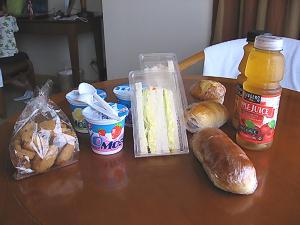 リーフホテルで買ってきたパン