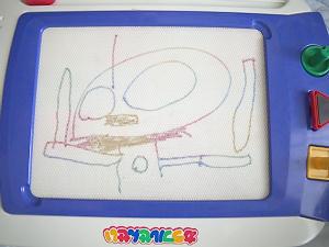 我が子の描いたウルトラマン