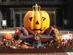 有楽町電気ビルヂングにかぼちゃがぁ!