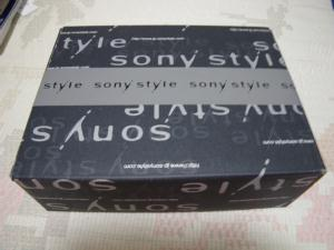 SONY STYLEの箱
