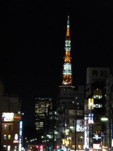 東京タワーがこんな近くに!
