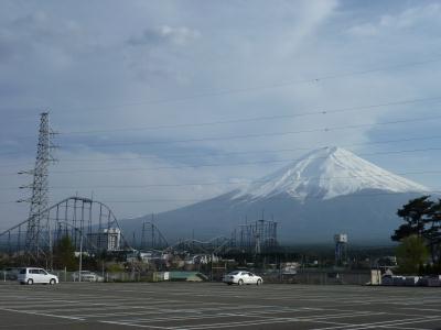 Jマートから見る富士山