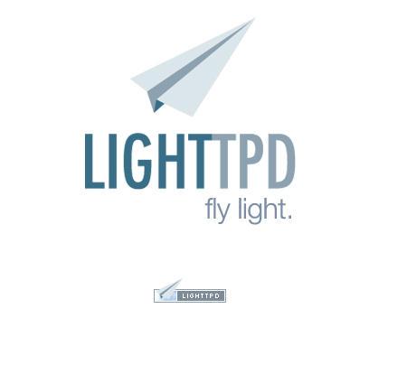 lighttpdトップ画面