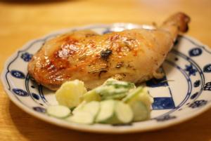 カミさん手作りの鳥料理