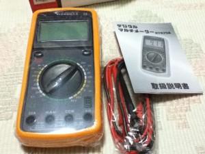 デジタルマルチテスター DT9205A