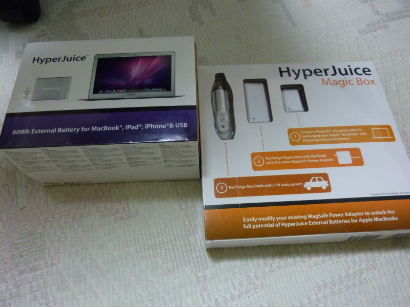 Hyper JuiceとMagic Box