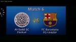 アルサッドSC VS FCバルセロナ