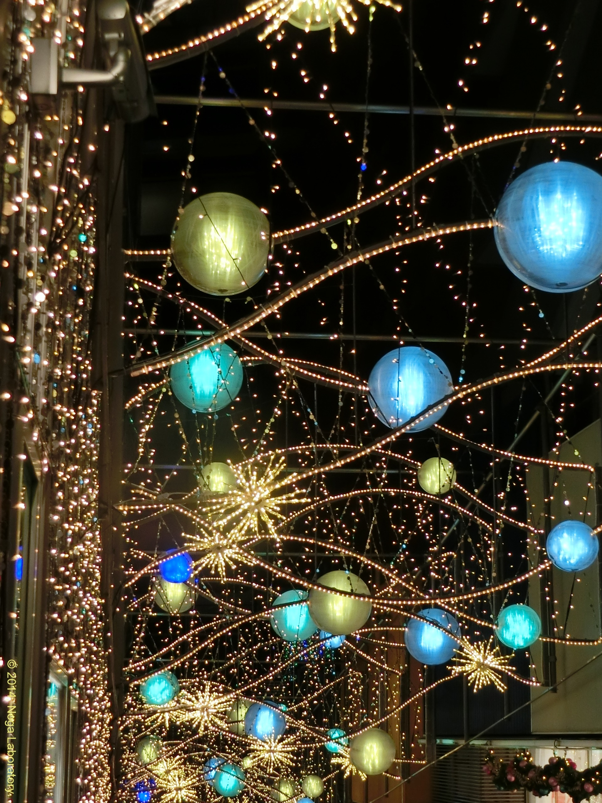 新宿テラスシティ・イルミネーション2014-2015・その3