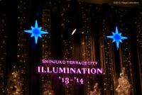新宿テラスシティ・イルミネーション2013-2014・その1